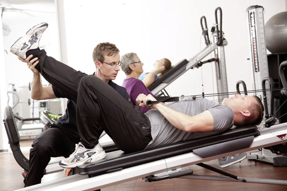 physiotherapie im gym